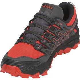 asics Gel-FujiTrabuco 7 G-TX Shoes Herren red snapper/dark grey